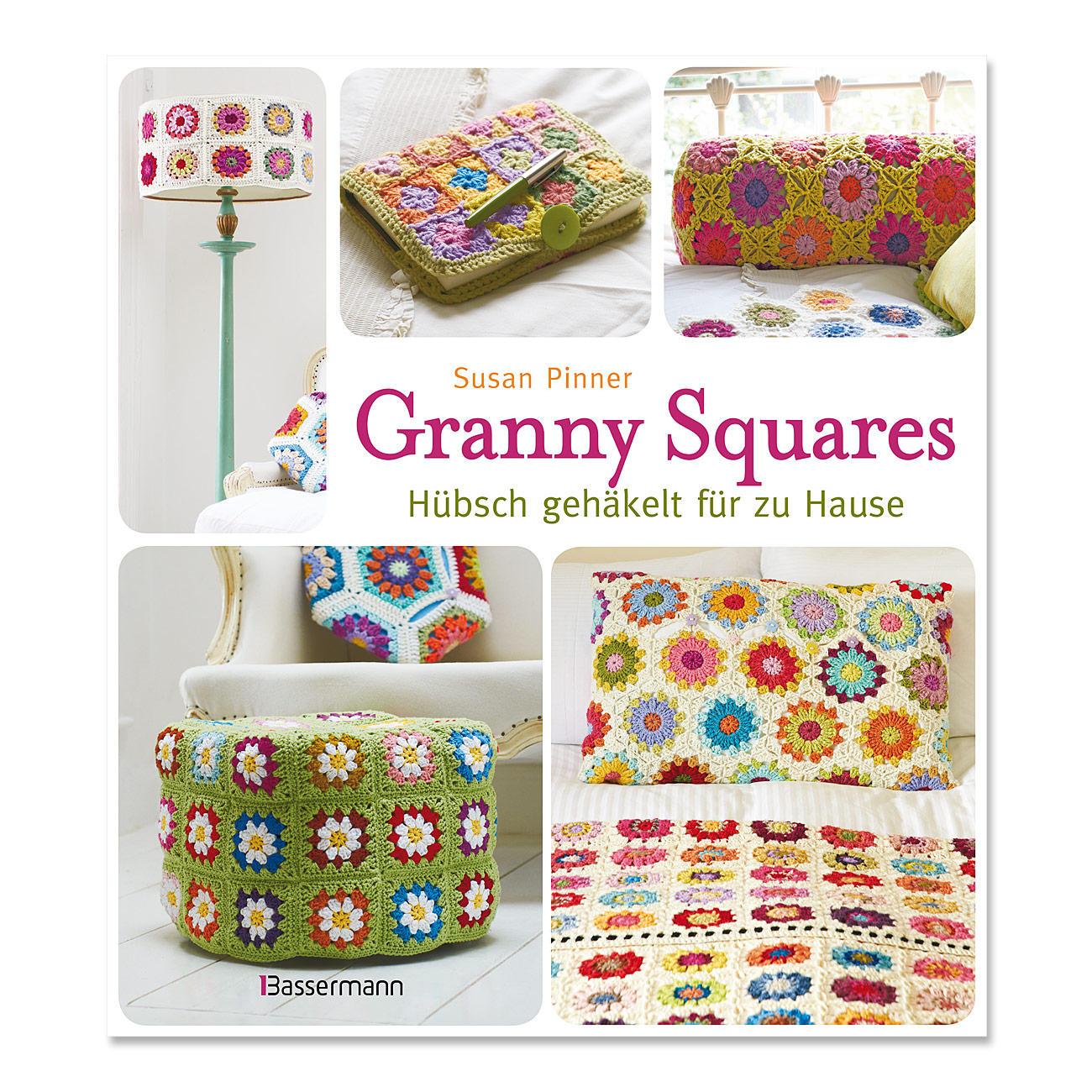 Buch Granny Squares Hübsch Gehäkelt Für Zu Hause