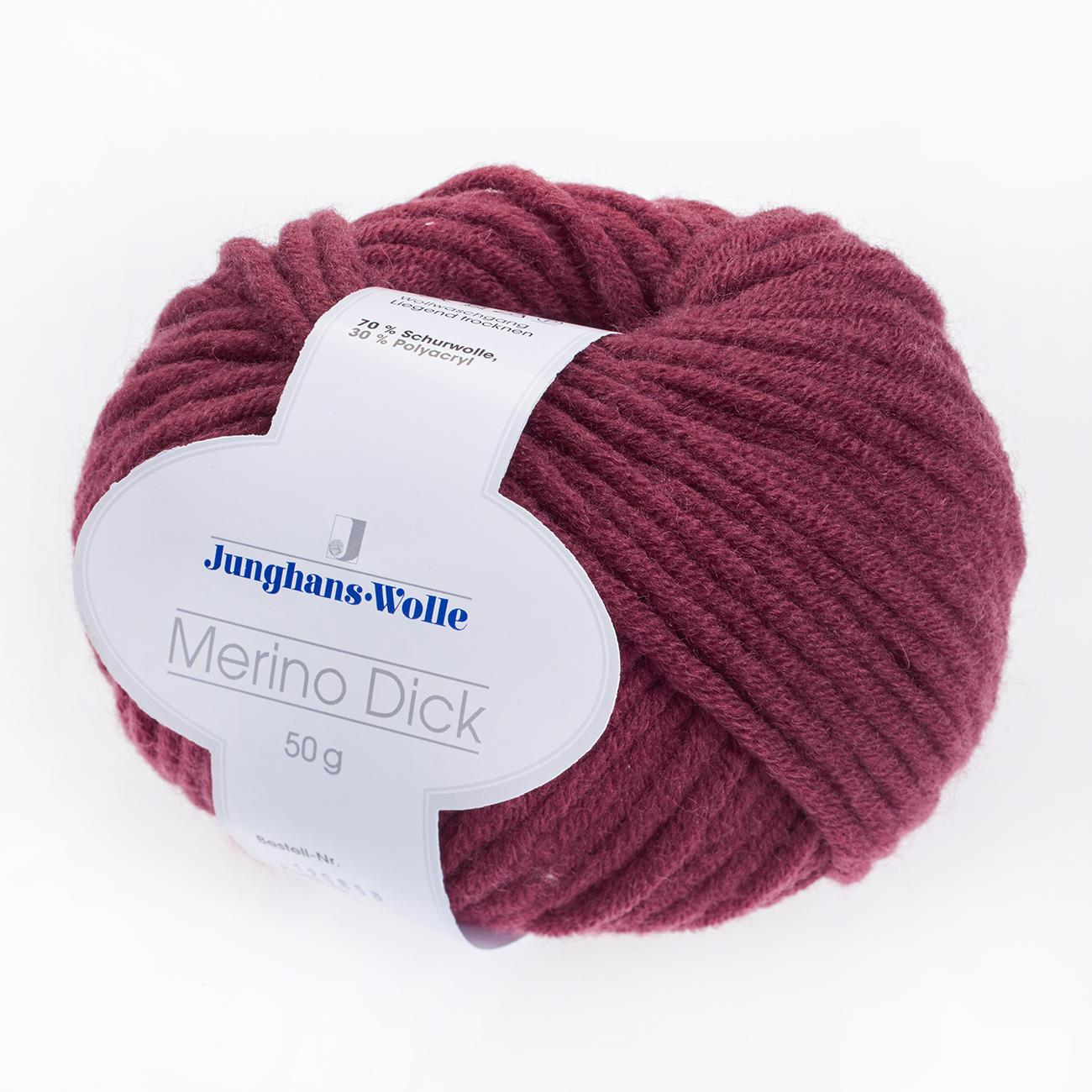 Merino dick von junghans wolle 18 versch farben - Junghanns wolle ...