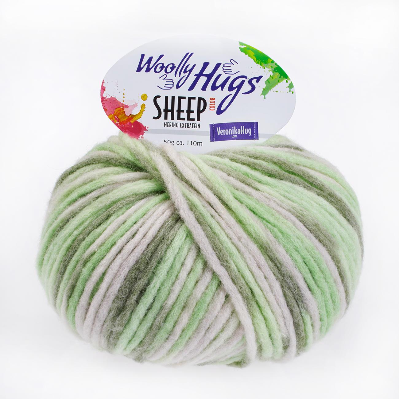 Woolly Hugs Sheep Color Merino extrafein 50g Farbe 80