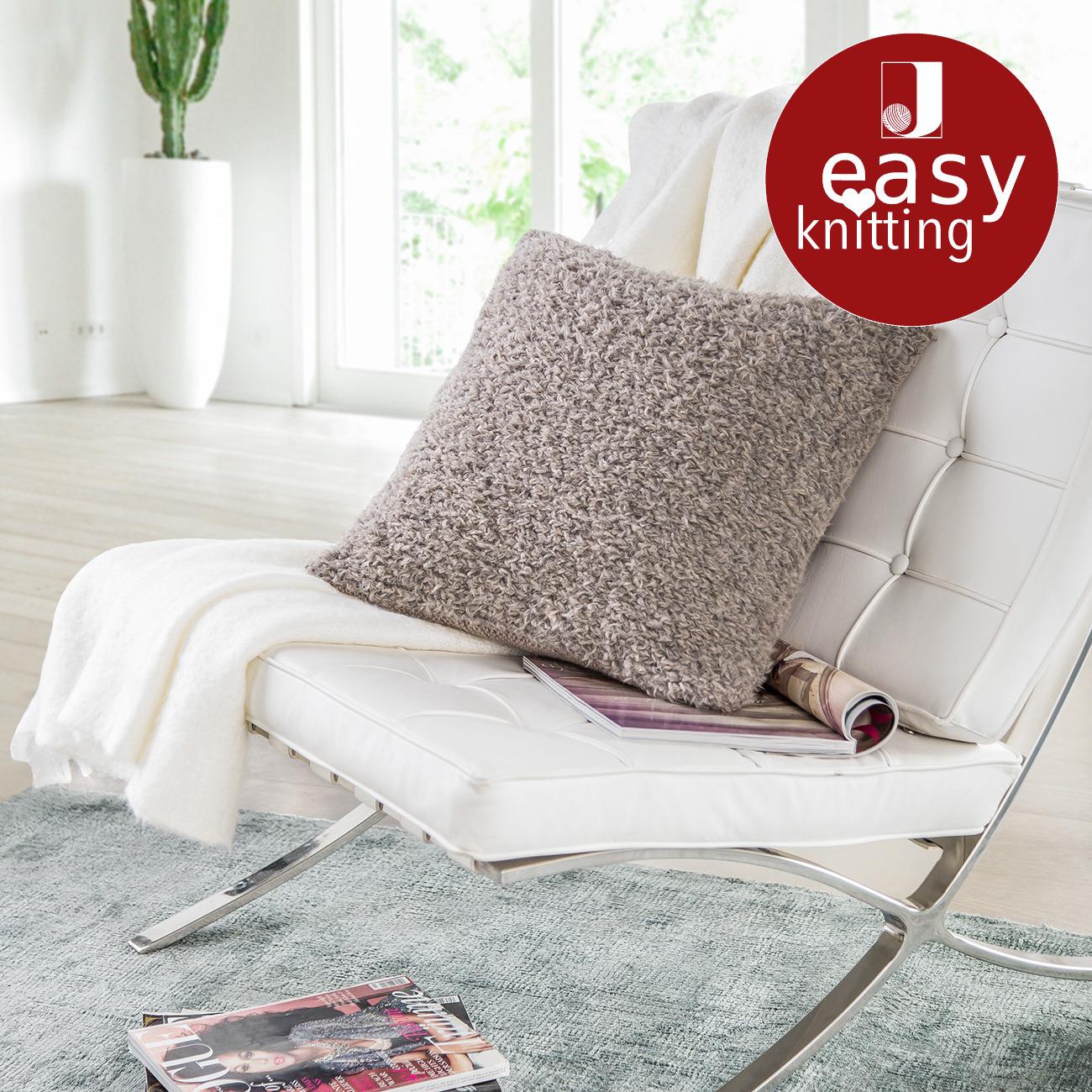 anleitung 284 6 kissenh lle aus pellini und merino classic von junghans wolle 2 versch farben. Black Bedroom Furniture Sets. Home Design Ideas
