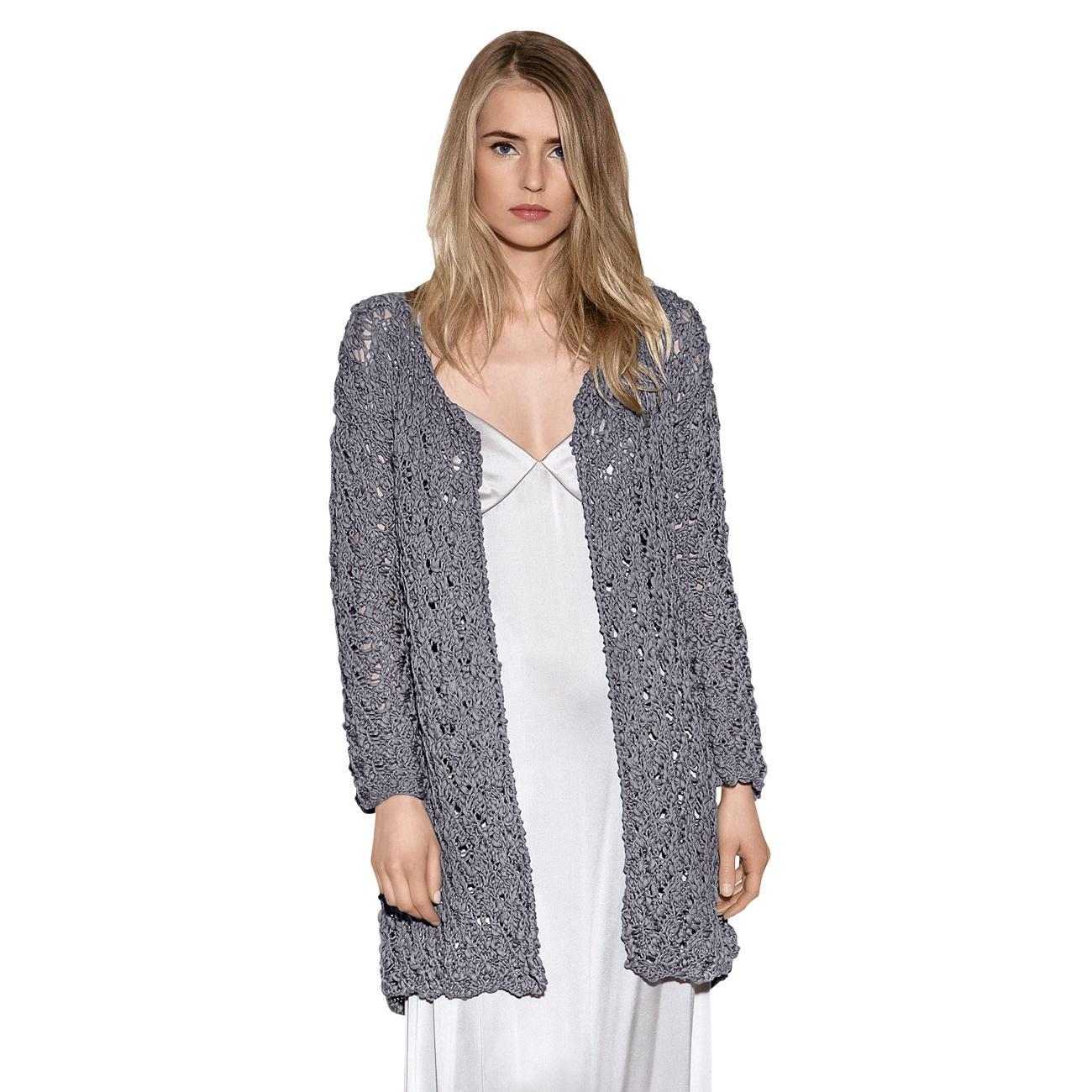 Anleitung 1158 Damen Jacke Aus Cotton Style Von Lana Grossa 1