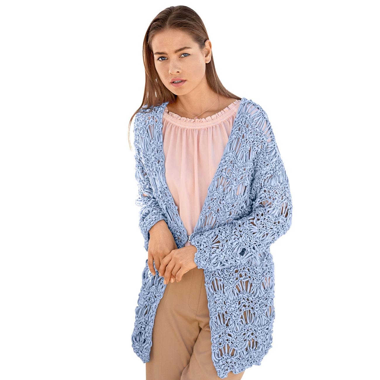 Anleitung 1168, Damen Jacke aus Cotton Style von Lana