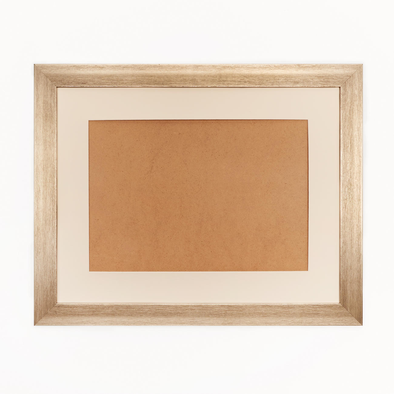 bilderrahmen blass goldfarben mit passepartout. Black Bedroom Furniture Sets. Home Design Ideas