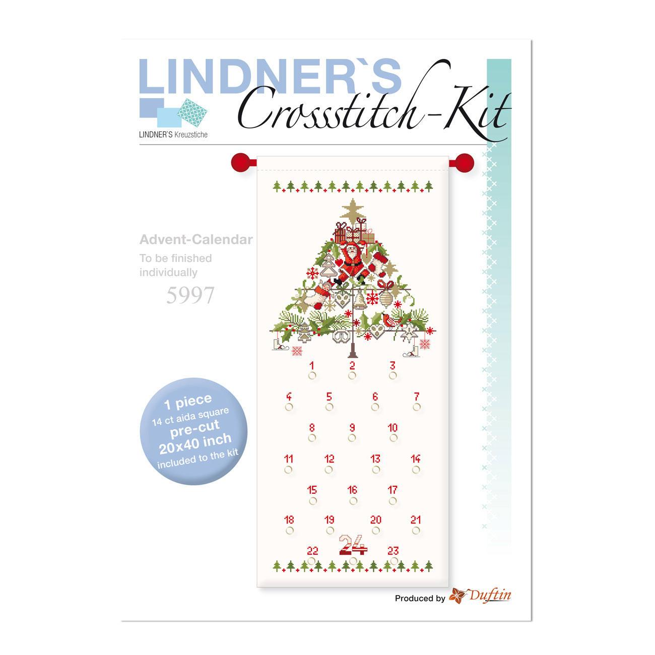 Aida Weihnachtskalender.Adventskalender Creativ Sets