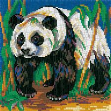 """Ministeck """"Panda"""" Einzigartig detailreich, einzigartig abwechslungsreich: Mosaikbilder aus Ministeck"""