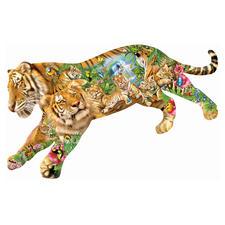 """Puzzle """"Tiger"""" Ein Spaß für die ganze Familie – spannend und entspannend zugleich."""