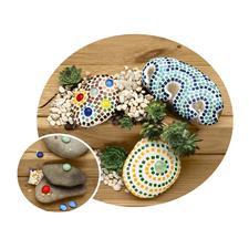 """Mosaik-Komplettpackung """"Dekosteine"""" Mosaik-Komplettpackung - fix und fertig für Sie zusammengestellt."""