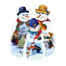 """Puzzle """"Schneemänner"""" Ein Spaß für die ganze Familie – spannend und entspannend zugleich."""
