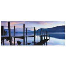 """Panorama Puzzle """"Idylle am See"""" Puzzeln – ein Spaß für die ganze Familie."""