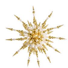 Prachtvolle Kugelsterne aus Perlen in 3D – mit der neuen Zauberperle.