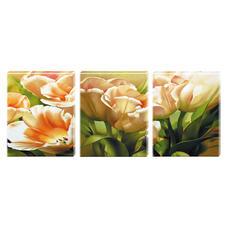 """Malen nach Zahlen """"Triptychon Tulpen"""" Malen nach Zahlen auf Keilrahmen"""