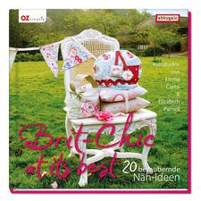 """Buch """"Brit-Chic at its best – 20 bezaubernde Näh-Ideen""""."""