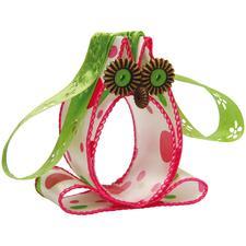 Fröhliche Bänder-Tiere, 3 Eulen im Set, Grün Lustige Tiere aus Schleifenbändern.