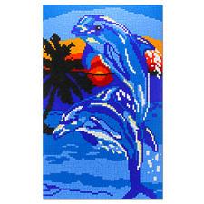 """Ministeck """"Delfine im Sonnenuntergang"""" Ministeck - Einzigartig detailreich, einzigartig abwechslungsreich"""