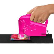 Elektrische Hand-Filzmaschine.