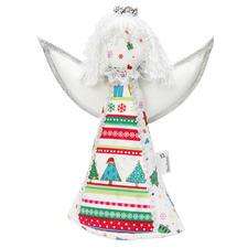Weihnachtliche Stoff-Dekorationen, Engel Fiona, 1 Stück Nähsachen, die Freude machen.