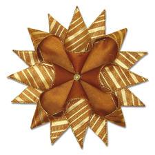 2er-Set Sterne Stockholm, Kupfer Weihnachtliche Dekorationen aus aktuellen Trendbändern.