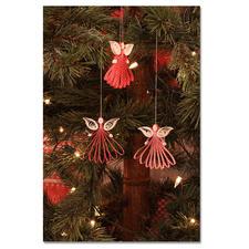 """Quilling Weihnachtsdekoration """"Engel"""" Quilling - Zauberhafte Weihnachtsdekorationen aus dünnen Papiersteifen."""