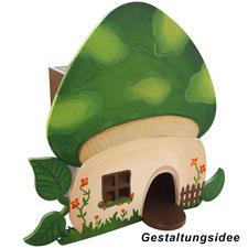Vogelhaus Pilz