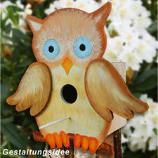 "Deko-Vogelhäuser ""Eule"""
