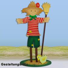 """Gartenstehfigur """"Vogelscheuche"""""""