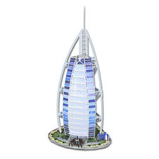 "3D-Bauwerk ""Burj Al Arab"" 3D-Bauwerke"