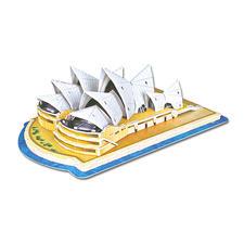 """3D-Bauwerk """"Sydney Opera House"""" 3D-Bauwerke"""