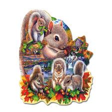 Puzzle - Eichhörnchen Puzzeln - Ein Spaß für die ganze Familie – spannend und entspannend zugleich.