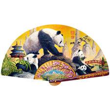 Puzzle - Panda-Fächer Puzzeln - Ein Spaß für die ganze Familie – spannend und entspannend zugleich.