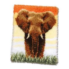"Wandbehang ""Der Elefant"""