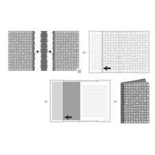 <b>So einfach geht's:</b> Motive anhand der Abbildung auf der Verpackung puzzlen. Vorder-, Mittel- und Rückseite miteinander verbinden….
