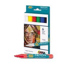 6 Acrylic Paint Marker im Set TRITON Acrylic Paint Marker