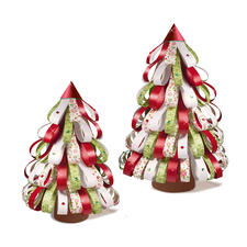 "Paper Christmas Trees ""Traditional"" Paper Christmas Trees"