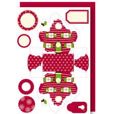 Packungsinhalt, Zipfel-/Schneehäuschen, Rot & Grün