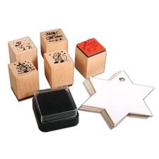 "Mini-Holzstempelset ""Christmas"" Mini-Holzstempelset"