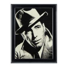 """Gobelinbild """"Humphrey Bogart"""" Legendäre Persönlichkeiten als Gobelinbilder."""
