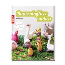 """Buch """"Bauernhoftiere nähen""""."""