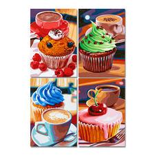 """Quattro-Puzzle """"Cupcake"""" Puzzeln - Ein Spaß für die ganze Familie – spannend und entspannend zugleich"""