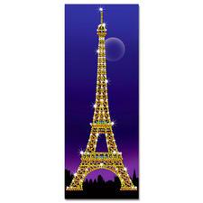 """Paillettenbild """"Eiffelturm"""" Das Wahrzeichenvon Paris"""