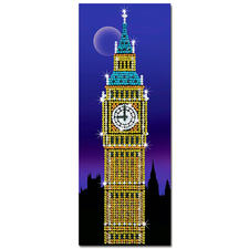"""Paillettenbild """"Big Ben"""" Das Wahrzeichen von London"""