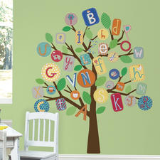 Gestaltungs-Idee ABC-Baum
