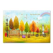 """Puzzle-Umschlag """"Farbenfroher Herbst"""" Puzzle-Umschläge"""