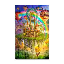 Puzzle - Tarot Town nach Ciro Marchetti Meisterwerke großer Künstler als Puzzle