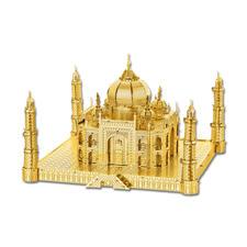 """3D-Miniaturen """"Taj Mahal"""" Hochwertige Edelstahl – Miniaturen in 3D. Jetzt auch in Gold und Silber."""