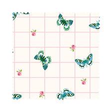 """Meterware """"Summer Loft"""" Schmetterling Romantisch-schöne Dessins mit leichten Farben und Mustern."""