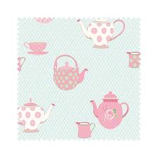 """Meterware """"Summer Loft"""" Teatime Romantisch-schöne Dessins mit leichten Farben und Mustern."""