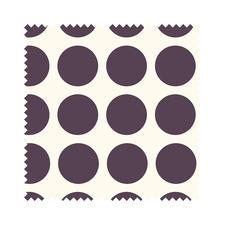 "Stoffzuschnitt ""Fenton House"" Dots groß Traditionelle Dessins in elegant-kräftigen Farben."