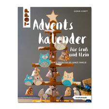 """Buch """"Adventskalender für Groß und Klein""""."""