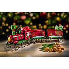 Nostalgischer Weihnachtszug Bezaubernde Dekoration – und die schönste Art, Ihre Geschenke zu bescheren.