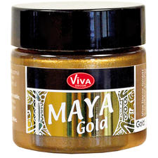 Maya-Gold Effektfarbe